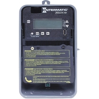 Intermatic ET2125CR - 24 Hr. Digital Time Switch - NEMA 3R Raintight Metal Case - 2 Channels - 2xSPST or DPST - 30 Amps - 120-277 VAC