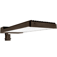 LED Parking Lot Fixture - Type III - 480 Watt - 62,400 Lumens - 5000 Kelvin - Replaces 1000 Watt Metal Halide - Comes with Slipfitter and Trunnion Mounting Bracket - 120-277 Volt - LEDF-10180