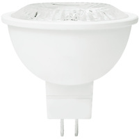 500 Lumens - LED MR16 - 6 Watt - 50W Equal - 3000 Kelvin - 35 Deg. Flood - Dimmable - 12 Volt - Green Creative 57985