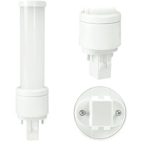 LED PL - 2 Pin GX23 Base - 6 Watt - 525 Lumens - 5000 Kelvin Replaces 13W CFL - Ballast Bypass - 120-277V - Maxlite 76619