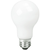 725 Lumens - 8 Watt - 60W Incandescent Equal - LED A19 - 5000 Kelvin Daylight White - All Glass - TCP LFF60A19N1550K