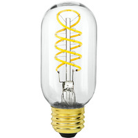 LED T14 Radio Bulb - 4 Watt - 40 Watt Equal - 230 Lumens - 2200 Kelvin - Color Matched For Incandescent Replacement - 120 Volt - Bulbrite 776511