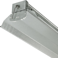 4 ft. x 6 in. - Fluorescent Strip Fixture - Requires (2) F32T8 Lamps - Lamps Not Included - 120 Volt - Lithonia 1242ZG RE