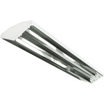 LED High Bay 4 Lamp White Finish, PLT-20023