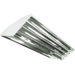 LED High Bay Operates 8 Lamp White Finish PLT-20025