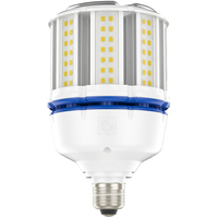 4700 Lumens - 37 Watt - LED Corn Bulb - 100W Metal Halide Equal - 3000 Kelvin - Medium Base - 120-277V - 5 Year Warranty