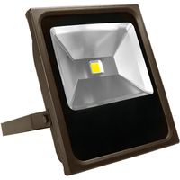 6700 Lumens - 4000 Kelvin - 70 Watt - LED Flood Light Fixture - Height 15.6 in. - Width 12.6 in. - 120-277V -  Equal to a 175W Metal Halide and Uses 60% Less Energy