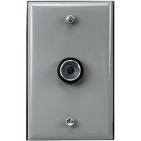 Button Type Photocell  - Fixed Position Mounting - LED Compatible - Metal Wall Plate Included - 120-277 Volt - Intermatic EK4336S