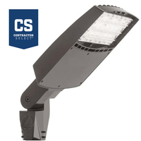3,800 to 16,400 Adjustable Lumens - 4000 Kelvin - Color Matches Metal Halide - 22-133 Watt - LED Parking Lot Fixture - Replaces 100-400W Metal Halide and uses up to 67% Less Energy - Lithonia RSXF1