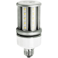 1950 Lumens - 15 Watt - LED Corn Bulb - 70W Metal Halide Equal - 5000 Kelvin - Medium Base - 120-277V - 5 Year Warranty