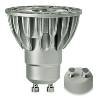 LED MR16 - 9 Watt - 75 Watt Equal - Halogen Match - Color Corrected - CRI 90 - 725 Lumens - 3000 Kelvin - 25 Deg. Narrow Flood - 120 Volt - GU10 Base - Soraa 08764