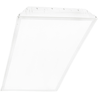 Low Profile Fluorescent Troffer - 3 Lamp - F32T8 - Length 48 in. x Width 24 in. - 120-277 Volt - 4100 Kelvin Lamps Included - 2 Year Warranty