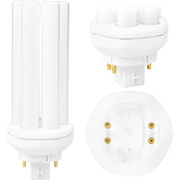PL-T 26W/841/A/4P/ALTO - 4 Pin GX24q-3 Base - 4100 Kelvin - 26 Watt - CFL - Philips 458273