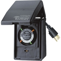 Intermatic P1121 - 24 Hr. Mechanical Outdoor Timer - 1 Grounded Outlet - 15 Amps - 120 VAC