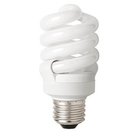 Spiral CFL - 13 Watt - 60 Watt Equal - Daylight White - 900 Lumens - 5000 Kelvin - Medium Base - 120 Volt - TCP 4891350K