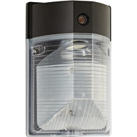 LED Wall Pack - 17 Watt - 1685 Lumens - 4000 Kelvin Replaces 50W MH - Integrated Photocell - 120-277 Volt - PLT-83354