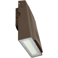 12,000 Lumens - LED Wall Pack - 100 Watt - 5000 Kelvin - 400 Watt Metal Halide Equal - Adjustable - 120-277 Volt - PLT-20227