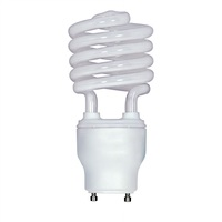 Spiral CFL - 23 Watt - 100W Equal - 4100K Cool White - GU24 Base - Satco S8210