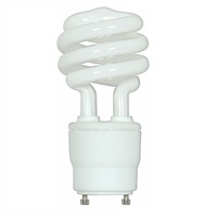 Spiral CFL - 26 Watt - 120W Equal - 3500K Halogen White - GU24 Base - Satco S8233