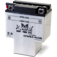 UPG 42005 - OEM HYB16A-AB - Motorcycle Battery - Conventional (Wet Pack) - 12 Volt - 16 Ah Capacity - G Terminal