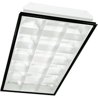 2 x 4 LED Recessed Troffer - Equal to a 3-Lamp T8 Fluorescent Troffer - 3 LED Tubes Included - KIT-10085