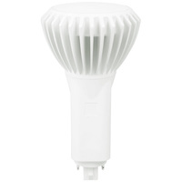 LED G24q PL Lamp - 17 Watt - 4-Pin - Replaces 42 Watt CFL Lamps - 1950 Lumens - 3500 Kelvin - Plug and Play with Electronic Ballast Only - Green Creative 98249