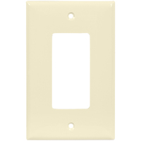 Light Almond - 1 Gang - Mid Size - Decorator Wall Plate - Enerlites 8831M-LA