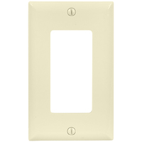 Light Almond - 1 Gang - Decorator Wall Plate - Enerlites 8831-LA