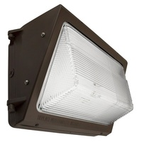 LED Wall Pack - 55 Watt - 6900 Lumens - 4000 Kelvin - Replaces 250 Watt Metal Halide - Integrated Photocell - 120-277 Volt - TCP WP5500140PC