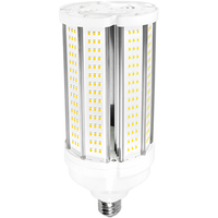 LED Corn Bulb - 45 Watt - 175 Watt Equal - Halogen Match - 6525 Lumens - 3000 Kelvin - Mogul Base - 120-277 Volt - PLT-11606