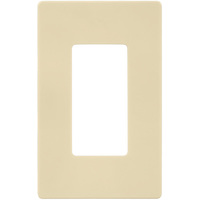 Almond - Screwless - 1 Gang - Decorator Wall Plate - Enerlites SI8831-A