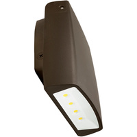 LED Wall Pack - 70 Watt - 7500 Lumens - 5000 Kelvin Replaces 400W MH - Adjustable - 200-480 Volt - Euri Lighting EWP-1051