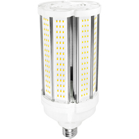 LED Corn Bulb - 45 Watt - 175 Watt Equal - Halogen Match - 6525 Lumens - 3000 Kelvin - Medium Base - 120-277 Volt - PLT-11605