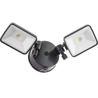 Lithonia OLF - LED Floodlight with Photocell - 25 Watt - 2017 Lumens - 4000 Kelvin - Adjustable 2-Head - 120V - 5 Year Warranty