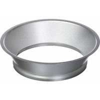 6 in. - Satin Nickel Plastic Reflector - Fits CR6T LED Downlight Modules - Cree CR6T-TRMSTAN-1