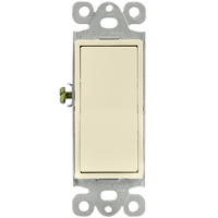 Decorator Switch - 3-Way - Light Almond - 15 Amp Maximum - Paddle - 120-277 Volt - Enerlites 93150-LA