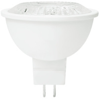 LED MR16 - 6.5 Watt - 50 Watt Equal - Cool White - 500 Lumens - 4000 Kelvin - 35 Deg. Flood - 12 Volt - GU5.3 Base - Euri Lighting EM16-3040ew