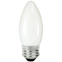 LED Chandelier Bulb - 4 Watt - 40 Watt Equal - 295 Lumens - 2200 Kelvin - Candle Glow - Frosted - Medium Base - 120 Volt - TCP FB11D4022KW