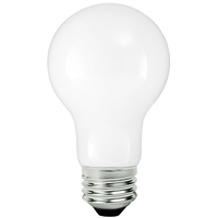 LED Victorian Bulb - 8 Watt - 60 Watt Equal - 775 Lumens - 2200 Kelvin - Color Matched For Incandescent Replacement - 120 Volt - TCP FA19D6022KW
