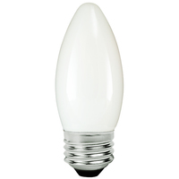 LED Chandelier Bulb - 5 Watt - 60 Watt Equal - 475 Lumens - 2200 Kelvin - Candle Glow - Frosted - Medium Base - 120 Volt - TCP FB11D6022KW