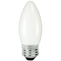 LED Chandelier Bulb - 5 Watt - 60 Watt Equal - 500 Lumens - 2700 Kelvin - Incandescent Match - Frosted - Medium Base - 120 Volt - TCP FB11D6027EW