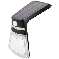 Solar Mini Flood Light with Motion Sensor - 240 Lumens - 6000 Kelvin - 2 Watt - 20 Watt Halogen Replacement - PLT-11633