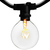 14 ft. Patio String Lights - Incandescent G16 Bulbs Included Thumbnail