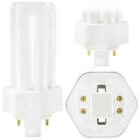 SYLVANIA 20879 - CF26DT/E/IN/827/ECO - 26 Watt - 4 Pin GX24q-3 Base - 2700K - CFL