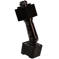 Nora NT-334B - Black - Slope Adapter - Single or Dual Circuit - Compatible with Halo Track and Juno Fixtures