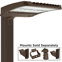 LED Parking Lot Fixture - 300 Watt - 750 Watt MH Replacement - 5000 Kelvin - 39,000 Lumens - Alpine Series Mounting Hardware Sold Separately - 10kV Surge Protector - 277-480V - PLT-11415A