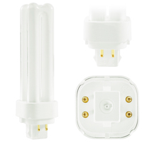 F18DBX/827/ECO4P - 4 Pin G24q-2 Base - 2700 Kelvin - 18 Watt - CFL - GE 97598