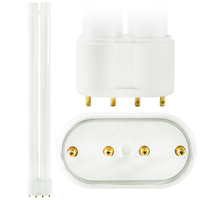 PL-L 24W/841/4P - 4 Pin 2G11 Base - 4100 Kelvin - 24 Watt - CFL - Philips 34508-2