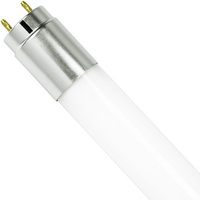 4 ft. T8 LED Tube - 2400 Lumens - 18 Watt - 5000 Kelvin - Works with Electronic Ballasts - No Rewiring - Plug and Play - Case of 25 - 120-277V - TCP 88LT800008