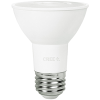 530 Lumens - LED PAR20 - 7 Watt - 50W Equal - 2700 Kelvin - 40 Deg. Flood - Dimmable - 120 Volt - Cree PAR20-50W-P1-27K-40FL-E26-U1